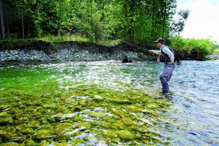 Muchowe początki: Jak zacząć łowić na nimfę?
