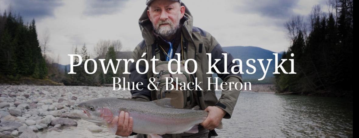 Powrót do klasyki – Blue & Black Heron